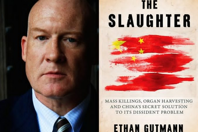 "Ethan Gutmann and his book ""The Slaughter"""